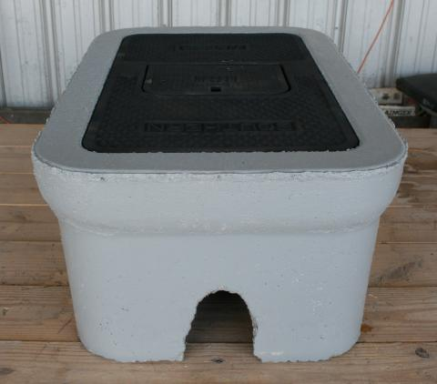 "C.H. 1 1/2"" Concrete Meter Box"