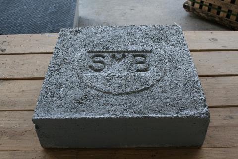 """C.H. 16"""" Solid Square Pad"""